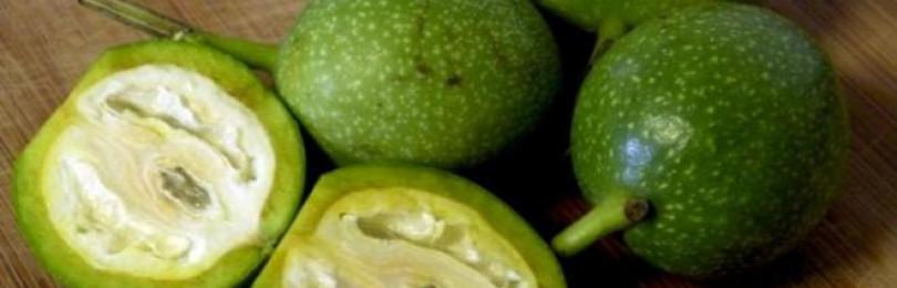 Зеленый грецкий орех – полезные свойства и противопоказания