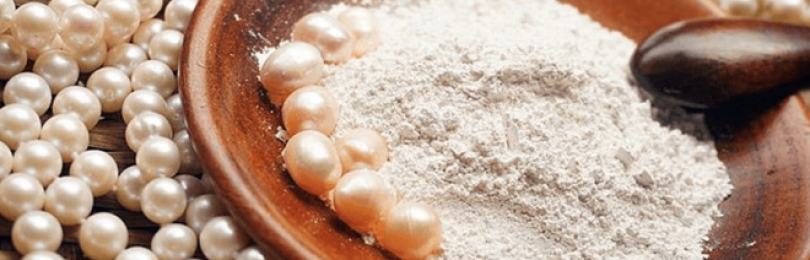 Жемчужная пудра — применение