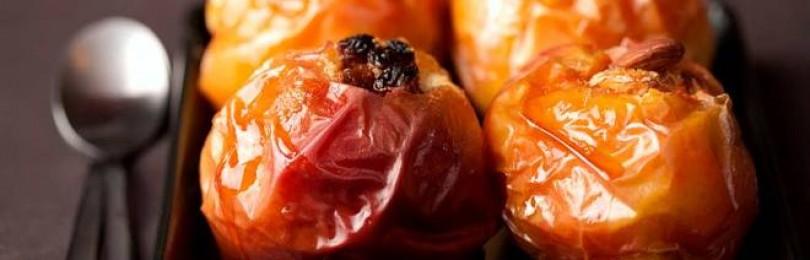 Запечённые яблоки – польза и вред