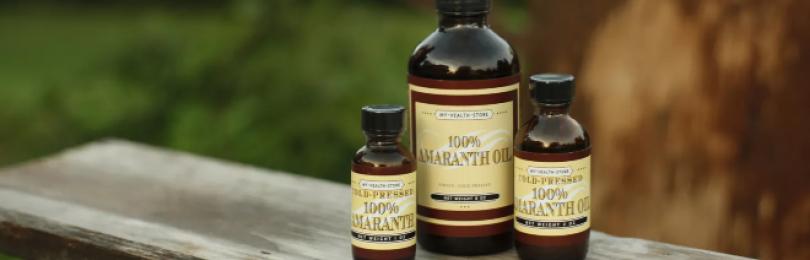 Амарантовое масло – польза и вред