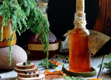 Можжевеловая водка – рецепт приготовления