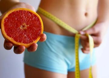 Грейпфрут для похудения – как есть