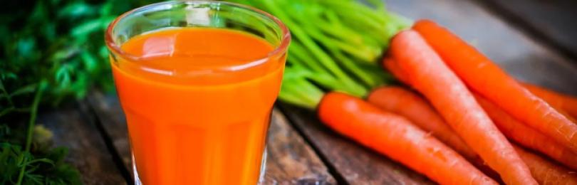Морковный сок – полезные свойства и противопоказания