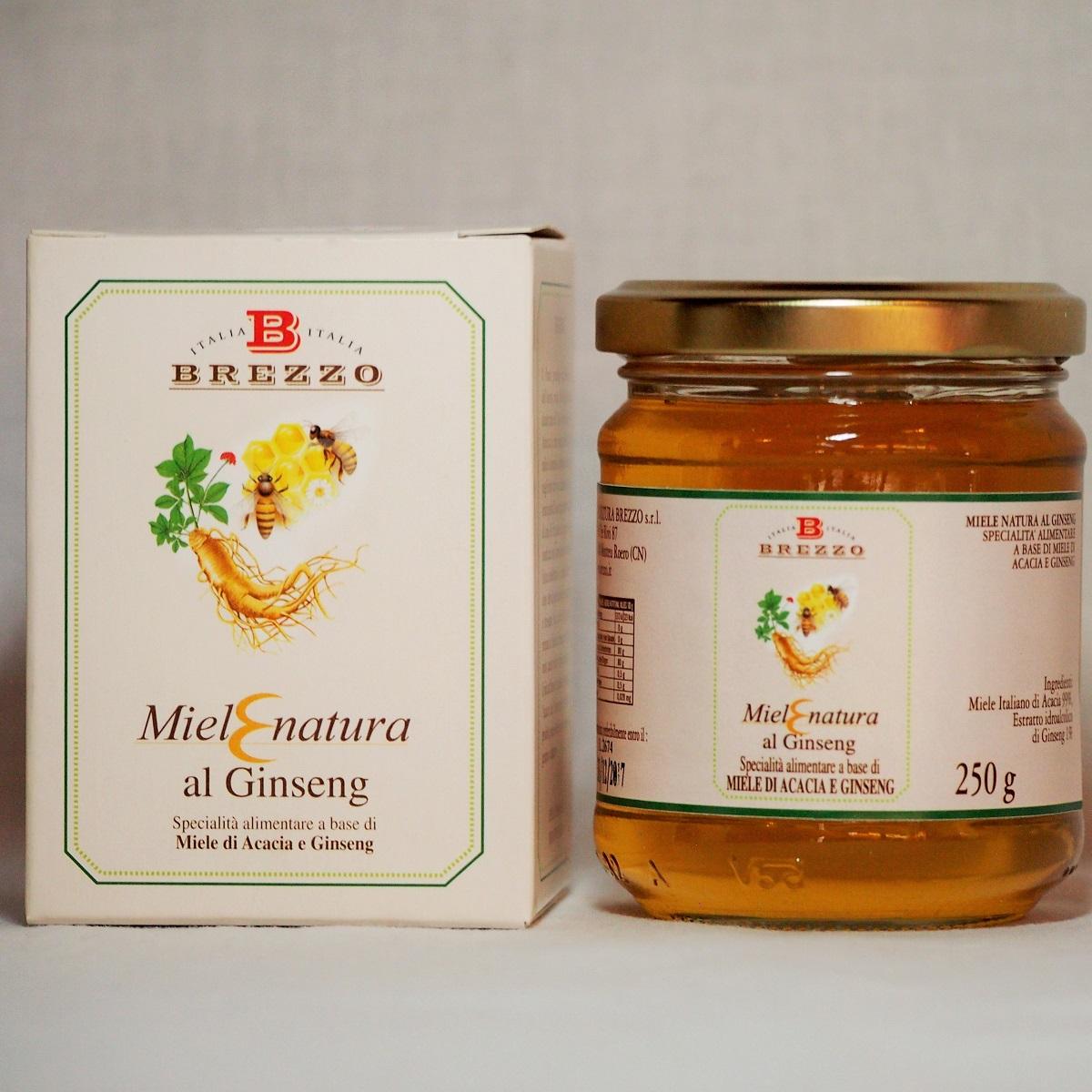 Мед с женьшенем