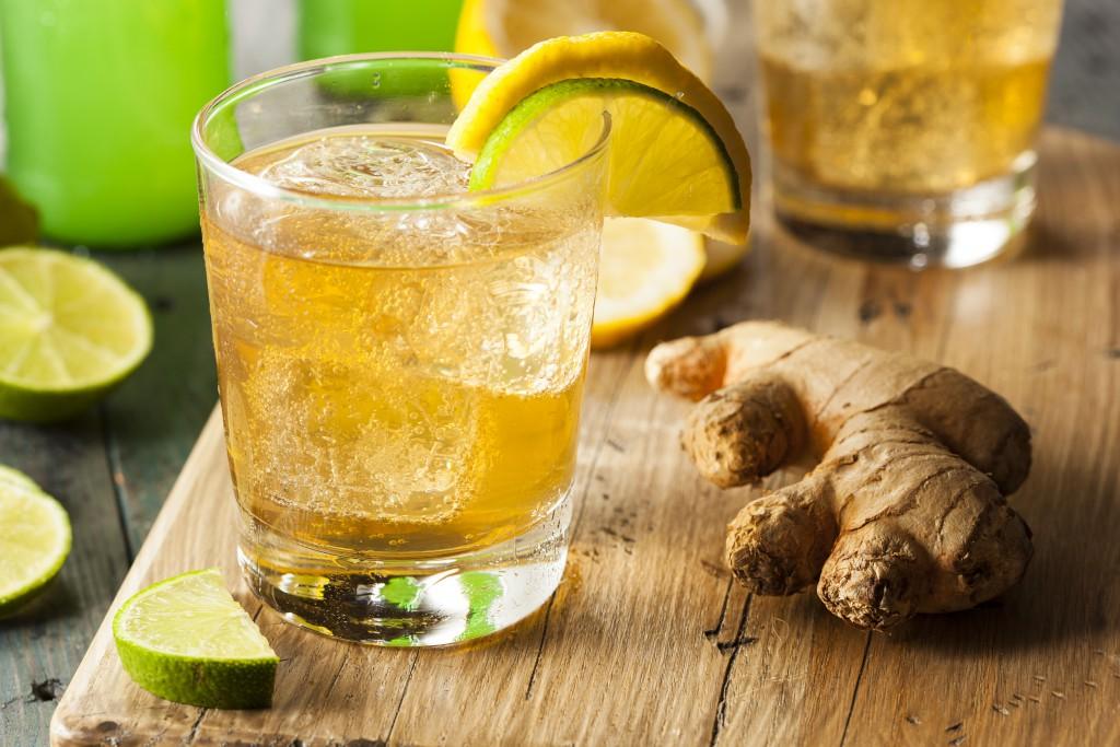Напиток из имбиря