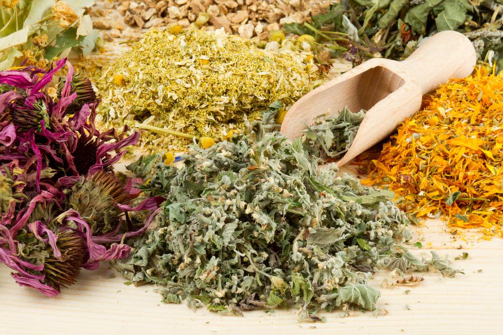Растения для лечебных травяных сборов