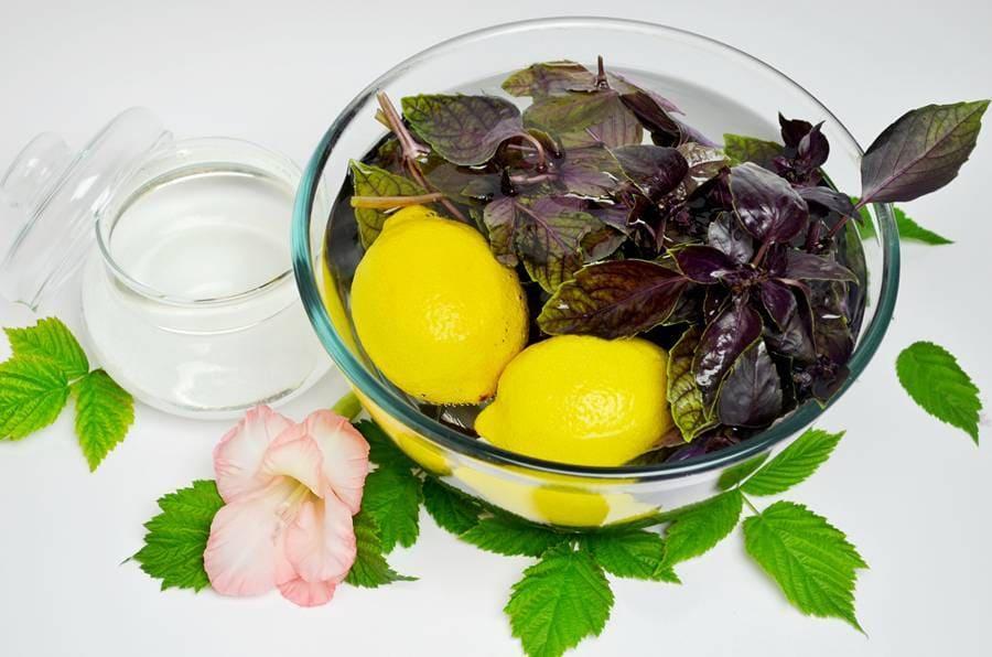 Базилик с лимоном
