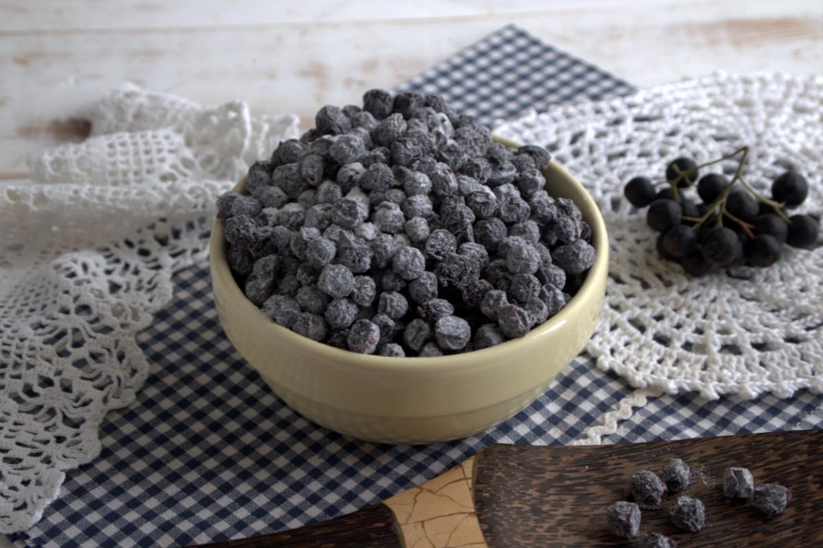 Цукаты из черноплодки