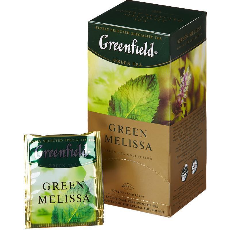 Чай Гринфилд с мелиссой