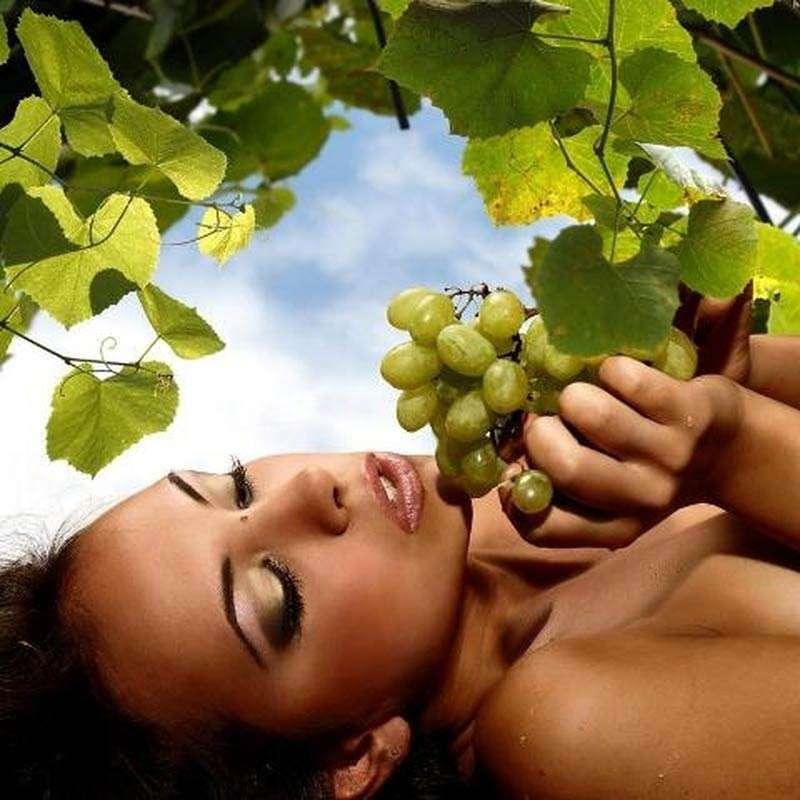 Листья винограда для красоты