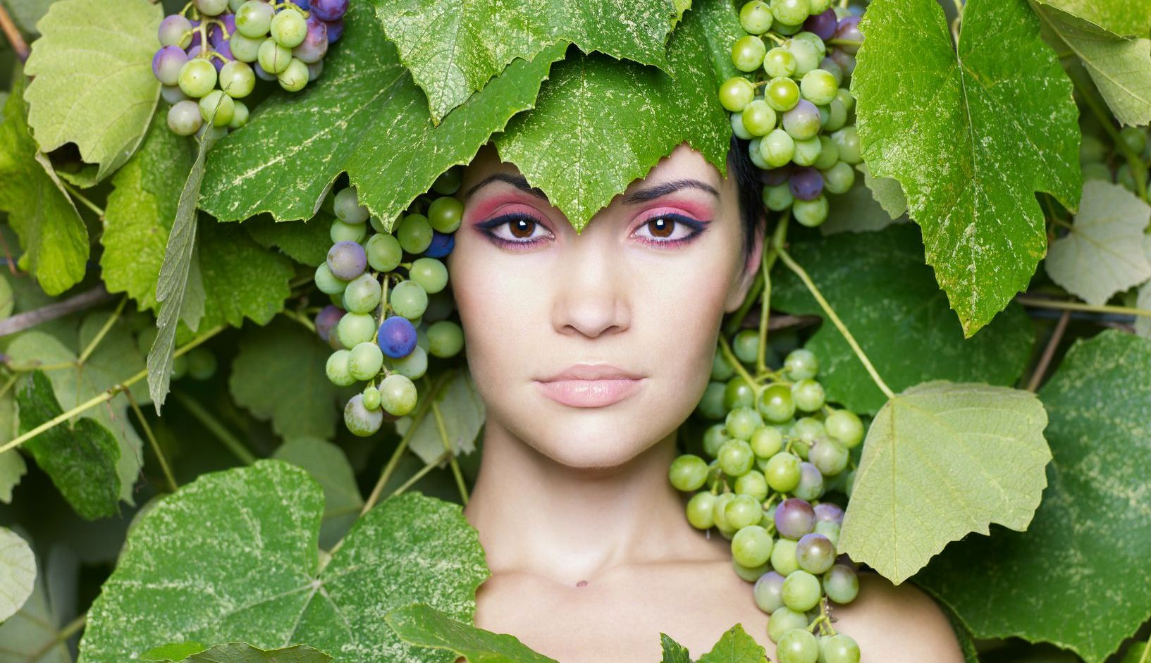 Листья винограда в косметологии