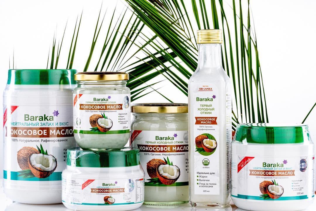 Магазинное кокосовое масло