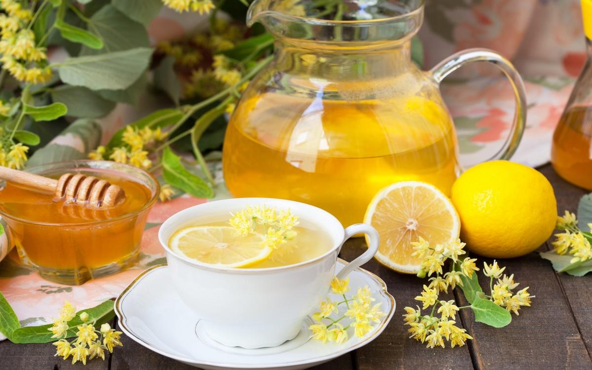 Липа с лимоном