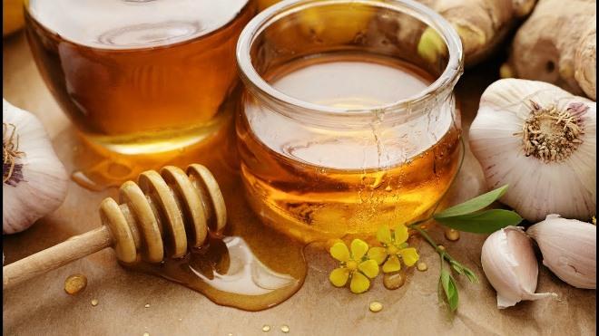 Чеснок, мед и яблочный уксус – польза и вред, дозы