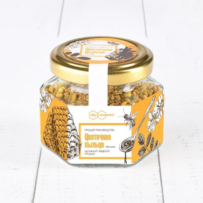 Мед с сосновой пыльцой